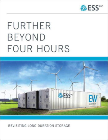 ESS White Paper - Further Beyond Four Hours - 2018